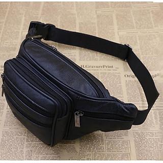 Túi đeo chéo bao tử da cao cấp loại 1 dạo phố  SK 25 Shalla
