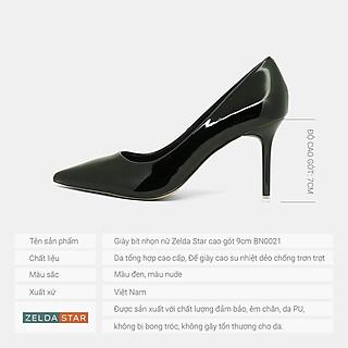 Giày cao gót Zelda Star bít mũi nhọn - BN0211120