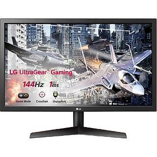 Màn Hình Gaming LG UltraGear 24GL600F-B 24 inch Full HD (1920 x 1080) 1ms 144Hz Radeon FreeSync TN - Hàng Chính Hãng