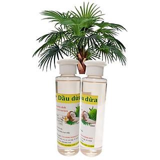 Combo 2 chai dầu dừa nguyên chất 150ml