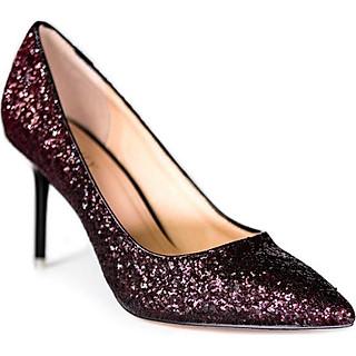 Giày Cao Gót Kim Tuyến Sulily G02-IV18DO màu đỏ