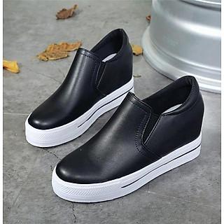 Giày Sneakers Nữ Độn Đế 8cm H56