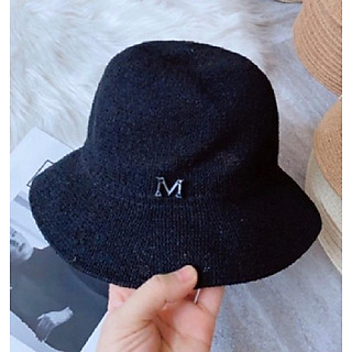 Mũ Cói Vintage Chữ M Mẫu Mới