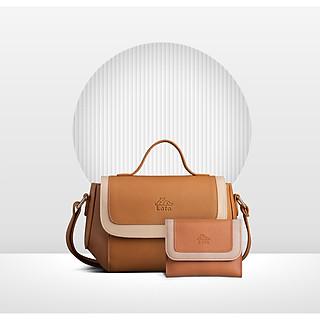 [COMBO 8-3] Túi đeo chéo nữ LATA HN84 + Ví nữ cầm tay LATA VN50