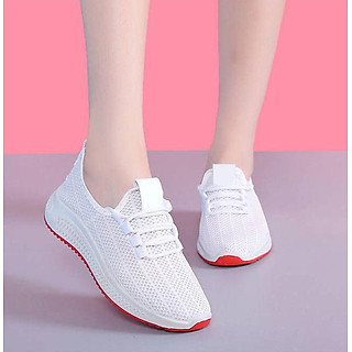 Giày Thể Thao Nữ Vải Cao Cấp 3Fashion Nhẹ Êm Chân Thích Hợp Đi Công Việc, Du Lịch, Vận Động - 3215