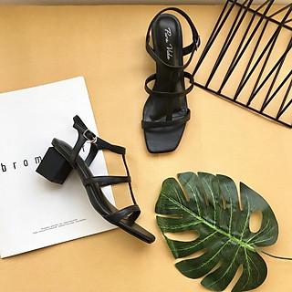 Giày sandal cao gót 5cm, siêu đẹp và mềm