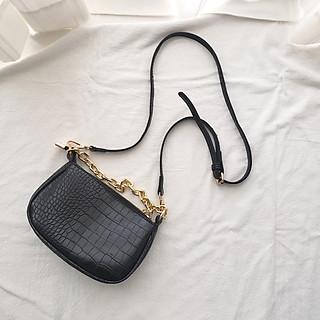 Túi đeo chéo nữ và đeo vai nữ chất liệu da PU thời trang sang trọng sử dụng để đi làm đi chơi