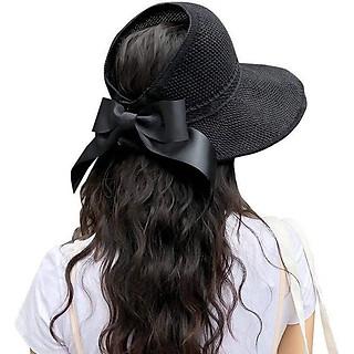 Mũ nón cói rộng vành hở chóp chống nắng đi biển đi dạo thời trang cao cấp siêu hot hit MC11