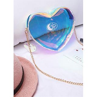 Túi xách Hologram trái tim ulzzang