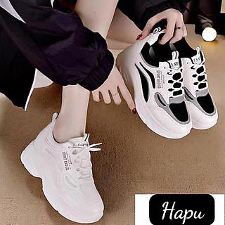 Giày sneaker nữ HAPU Sport Andco đế cao 8cm kiểu dáng thể thao phong cách mới , Hot trend