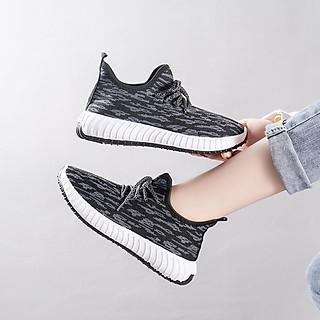Giày sneaker thể thao nữ thời trang mới nhất buộc dây siêu nhẹ 261