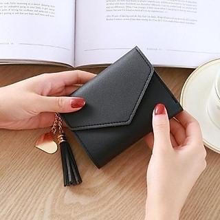 Ví Nữ- Ví Bóp Da Cầm Tay Nữ Mini Dễ thương Hàn Quốc VI88