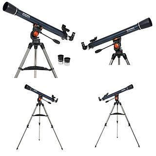 Kính thiên văn chính hãng Mỹ Celestron LT70AZ, có đảo ảnh, chống phản quang