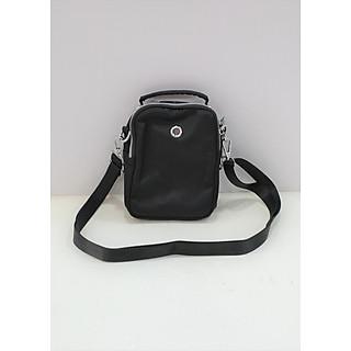 Túi đeo chéo đựng điện thoại dập vân có tai cầm F006-1