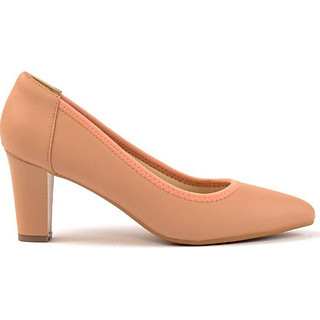 Giày Cao Gót Nữ Vasmono Đế Vuông Cá Tính V015078