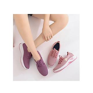 Giày Thể Thao Nữ Hoa Cúc Vải Nhẹ Êm Chân Sport Trẻ Trung - MSP 3223