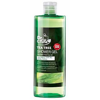 Gel Tắm Chiết Xuất Tea Tree Đặc Biệt Cho Da Mụn Farmasi - 1923SHO04 (225ml)