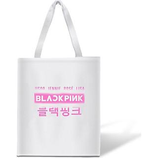Túi tote BlackPink in chữ Jisoo Jennie Rose Lisa