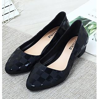 Giày nhựa đi mưa nữ thời trang nhiều màu 3p dáng công sở 251