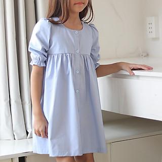 Đầm Bé Gái Baby Doll Tay Lửng 077