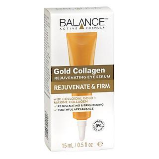 Kem Dưỡng Da Vùng Mắt Ngừa Lão Hóa Balance Gold Collagen Rejuvenating Eye Serum (15ml)