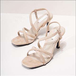 Giày cao gót nữ đan dây B02