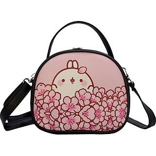 Túi đeo chéo mini nữ thời trang dễ thương cho các bạn nữ hình cute màu hồng