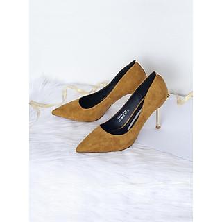 Giày Cao Gót Form Mũi Nhọn Xinh Đẹp Cho Nữ
