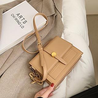 Túi đeo chéo nữ đi chơi hợp thời trang, túi đeo chéo da PU chất lượng, có nhiều ngăn để đựng điện thoại và các vật dụng cần thiết