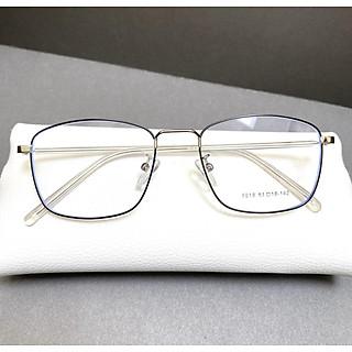 Gọng kính cận dáng vuông Udany 8818 - kính mắt kim loại cao cấp dành cho nam và nữ