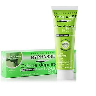 Kem tẩy lông Byphasse - 125ml màu xanh