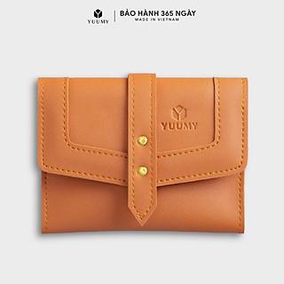 Ví da nữ mini nhỏ gọn đựng tiền đựng thẻ YUUMY YV29 nhiều màu