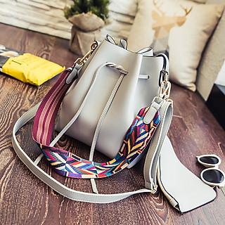 Túi xách đeo chéo đi chơi hợp thời trang, túi xách đeo chéo da PU chất lượng, có nhiều ngăn để đựng điện thoại và các vật dụng cần thiết