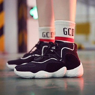 Siêu phẩm giày thể thao nữ thoáng khí phong cách Hàn Quốc - đen