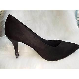 Giày bít mủi nhọn gót nhọn 7cm