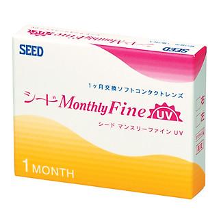 MonthlyFine UV- Kính áp tròng SEED 1 tháng (3lenses)