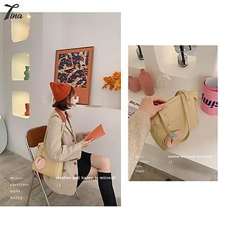 Túi đeo vai nữ Micocah 2021 thiết kế form lớn, dung tích lớn tiện dụng (NSE483) (M396)
