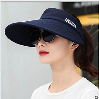 nón chống nắng nửa đầu thời trang, mũ rộng vành chống nắng nữ cao cấp