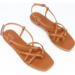 Giày sandal xỏ ngón đế bệt Cillie 1061