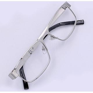 Kính lão 868 inox trắng - Kính viễn inox dành cho nam và nữ - Có nhiều độ cho khách lựa chọn