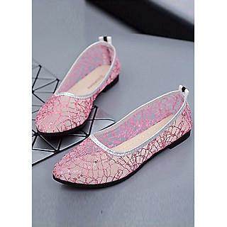 Giày búp bê dạng lưới thoáng mát 96-305