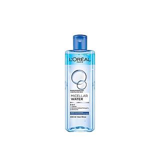L'Oreal Paris Micellar water 400ml -  Làm sạch và mềm mịn da tích tắc (xanh dương đậm)