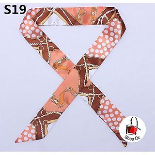 Dây lụa buộc túi - dây quấn quai túi họa tiết nhiều mẫu (p2)