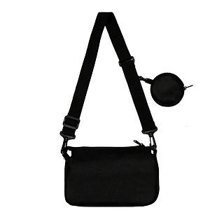 DKMV Túi đeo chéo MS Bag - MÀU ĐEN/ Túi đeo chéo vải thời trang