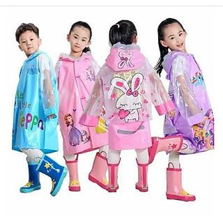 Áo mưa cho bé trai bé gái gồm nhiều size nhiều mẫu cực đẹp mẫu mới nhất 2021