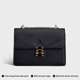 Túi đeo chéo nữ thời trang YUUMY YN91, 7 ngăn, vừa sổ tay, ví, điện thoại, phù hợp đi chơi, đi làm, đi tiệc, da tổng hợp cao cấp, không bong tróc, không thấm nước (Dài 21.5cm x Rộng 8.5cm x Cao 15.5cm)