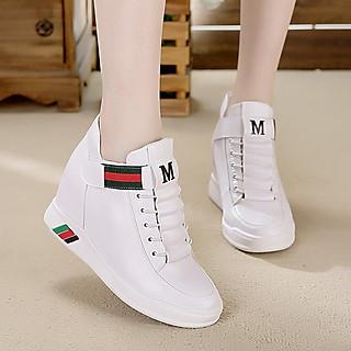 Giày Thể Thao nữ cổ cao độn đế 8cm PS540