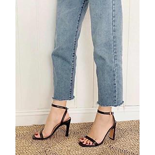 Sandal gót mảnh cao 8 phân