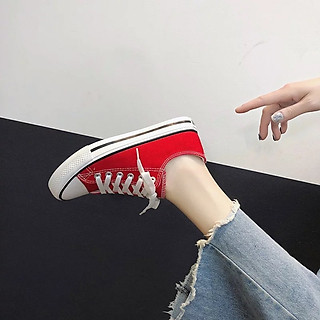 Giày Canvas nữ trẻ trung năng động Kami