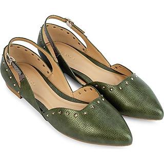 Giày búp bê mũi nhọn đính đinh tán - Sablanca 5050BB0043